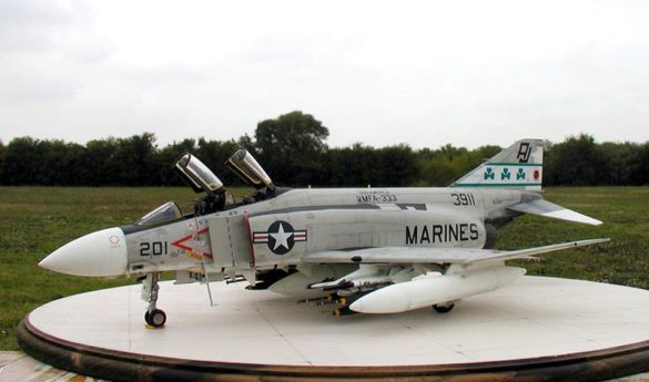 F-4J Phantom от Tamiya в 1/32
