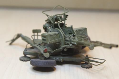 Модель ЗУ-23-2, Трумпетер, 1:35