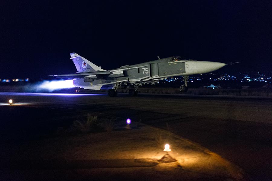 Су-24М в Сирии