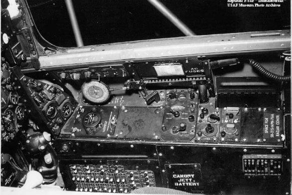 Деталировка кабины F-84E/G от Cutting Edge в 1/48