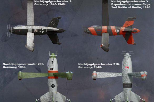 Focke Wulf Triebflugel Nachtjager от MiniArt поступил в продажу